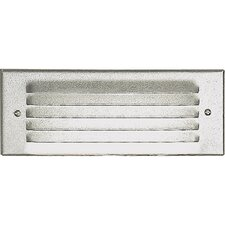 White Indoor and Outdoor Recessed Step Light