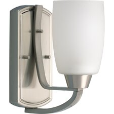 Westin  Wall Sconce in Brushed Nickel