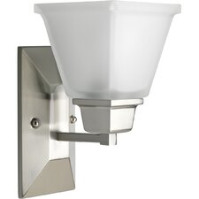 North Park  Wall Sconce in Brushed Nickel