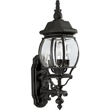 Onion 3 Light Outdoor Wall Lantern