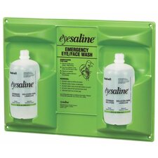 Eyesaline® Wall Stations - eyesaline double 32 ozwall station