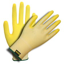 Ladies Foam Latex Coated Nylon Gloves