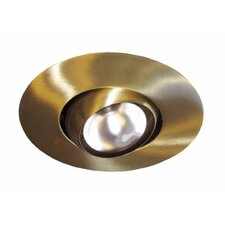 "7"" x 7"" Recessed Light in Antique Brass"