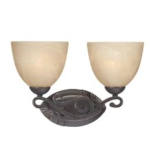 Melody 2 Light Bath Vanity Light