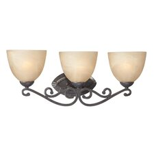Melody 3 Light Bath Vanity Light