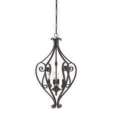 Melody 4 Light Foyer Pendant