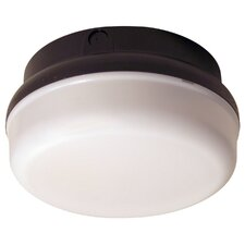LED Outdoor 1 Light Flush Mount