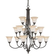 Harmony 15 Light Foyer/Hall Chandelier