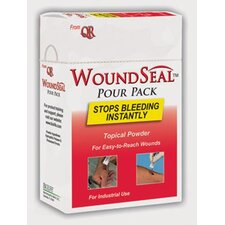 Swift First Aid Pour Pack WoundSeal Blood Clotter (2 Applications Per Package)