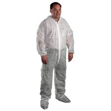West Chester - Sbp Protective Coveralls Sbp White Coverall Zipper Front  Collar: 813-3500/Xxxxxl - sbp white coverall zipper front  collar