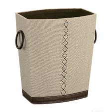 Wastebasket in Beige / Brown