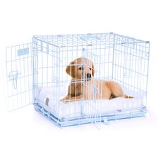ProValu Two-Door Dog Crate in Blue