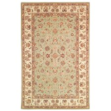 Persian Court Light Green/Ivory Kashan Rug