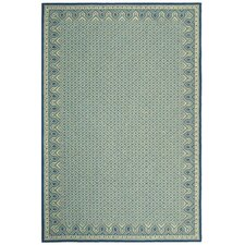 Wilton Ivory/Light Blue Rug