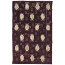 Berkeley Plum Leaves Rug