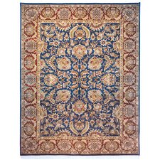 Dynasty Navy/Red Rug