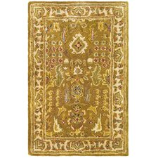 Classic Beige/Gold Tree of Life Rug