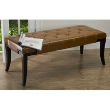 Tyler Leather Bench
