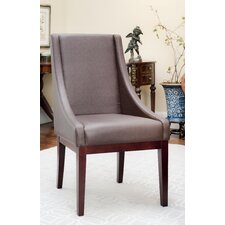 Sloping Leather Chair