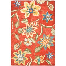 Blossom Orange/Multi Floral Rug