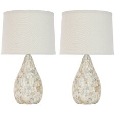 Eleanor Mother of Pearl Inlay Table Lamp (Set of 2)