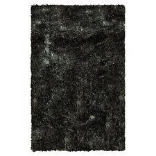 California Shag Black Rug