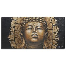 Dramatic Buddha Painting