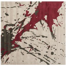 Soho Beige / Red Rug