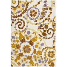 Wilton Ivory / Brown Rug