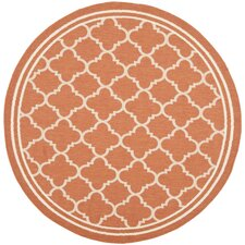 Courtyard Terracotta / Bone Rug