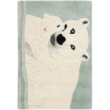 Wilderness Blue/Ivory Novelty Rug