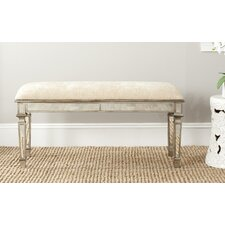 Layla Wood Entryway Bench