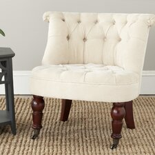 Carlin Tufted Slipper Chair