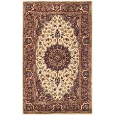 Persian Legend Ivory / Rust Rug