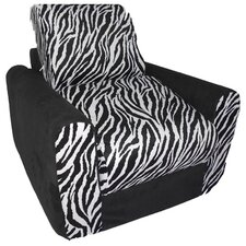 Micro and Zebra Kid's Chair Sleeper