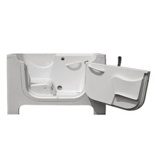 "Handi-Tub 60"" x 30"" Walk-In Tub with Whirlpool and Air Bath"