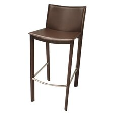 Elston Barstool in Dark Brown