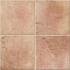 "Quarry Stone 12"" x 12"" Floor Tile in Terra"