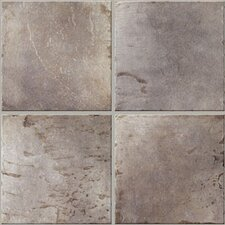 "Quarry Stone 17"" x 17"" Floor Tile in Slate"