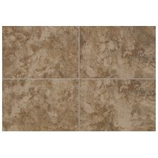 "Pavin Stone 1"" x 1"" Quarter Round Corner in Brown Suede"