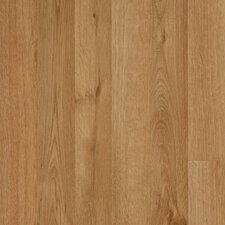 Elements Carrolton 8mm Red Oak Laminate in Wheat Strip