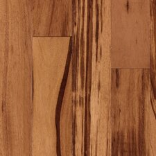 "Rarity Bahia 3-1/4"" Solid Tigerwood Flooring in Natural"