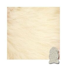 Ivory Gold Star Longwool Rug