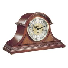 Tambour Clock in Cherry