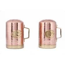 Decor Hammered Stovetop Salt and Pepper Set