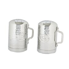 Hammered Stovetop Salt and Pepper Set