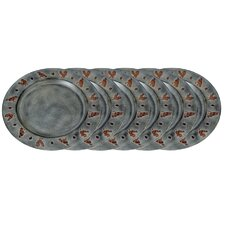 "Rooster 13"" Charger Plate (Set of 6)"