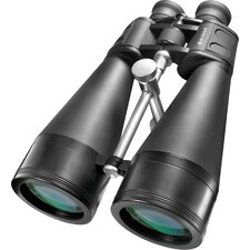 20x80 X-trail Binoculars, Bak-4, MC,Green Lens with Braced-in Tripod Adapter