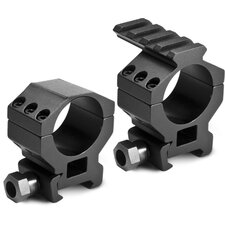 30mm Standard Tactical Rings with Build-in Picatiny Rail