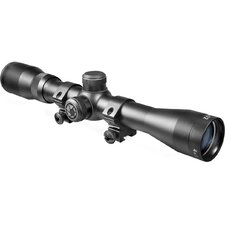 "4x32 Plinker-22 Riflescope with 3/8"" Dovetail Rings"